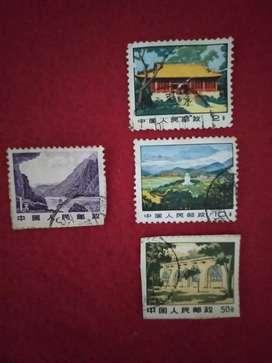Perangko Kuno asal Tiongkok 2.2