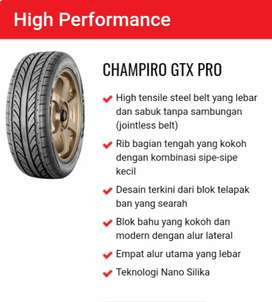 Jual ban ukuran 215/55 R17 merek GT Radial Champiro GTX PRO