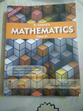S.Chand Mathematics Book CBSE class 9th