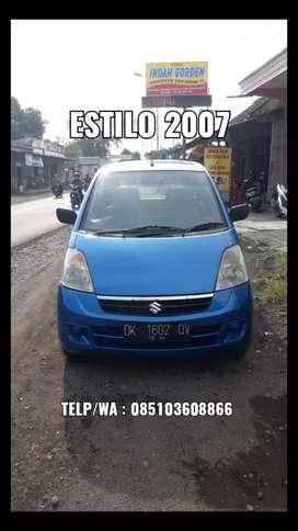 Suzuki Karimun Estilo 2007 Super Istimewa, Siap Pakai !!