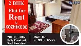 2 BHK Flat in anywhere in Calicut city.