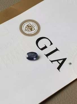 GIA Certified Rare,The Legend,NH 2.26 Ct Violet Blue SAPPHIRE KASHMIR