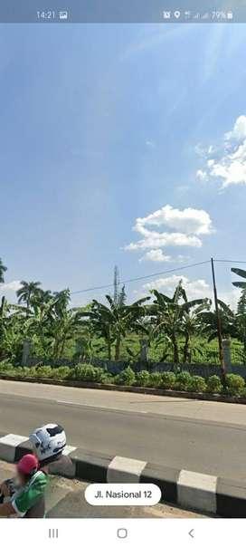 Dijual cepat tanah di pinggir jalan besar tembus pemda Cibinong