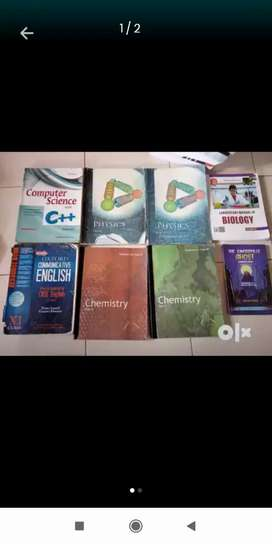 Class 11th science all books