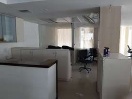 Office space 2000 square feet ferozgandhi market fully furnished