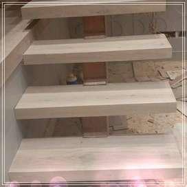 Flooring KAYU SOLID & LUMBER SHIRING LANTAI KAYU PARIAMAN : MENGERJAKA
