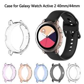 Case Cover Transparant for Samsung Galaxy Active 2 40mm 44mm Watch