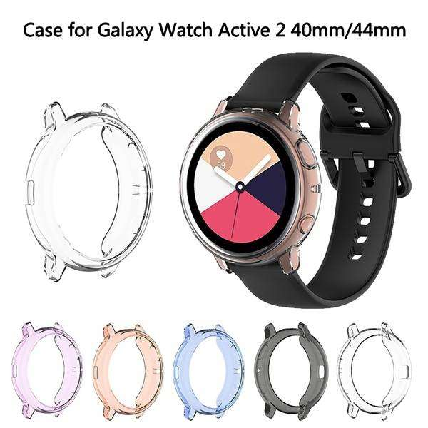 Case Cover Transparant for Samsung Galaxy Active 2 40mm 44mm Watch 0