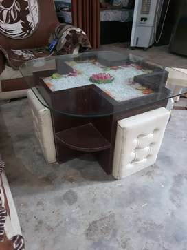 Center table with box