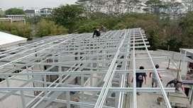 Baja ringan dan canopy siap terpasang #521