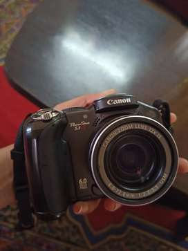 Canon camera power shot s3is