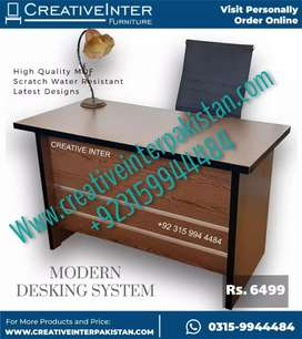Office table lavish design chair bed set workstation study Computer