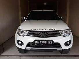 Di jual cepat butuh uang Pajero Sport Exceed 2014 matic rancak bana