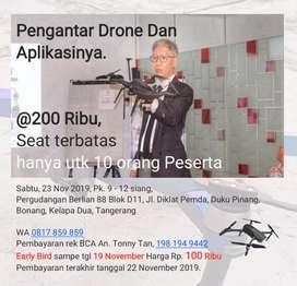 Pelatihan Tentang Drone dan Aplikasinya