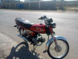 Honda CD 70 first owner, genuine mint condition. Only 9700 km driven