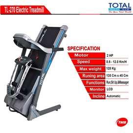 Gratis Kirim Treadmill Elektrik TL 270 Bisa COD #treadmillmurahbandung