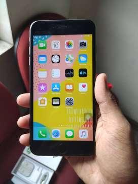 Iphone 6 Plus 6+ 16 GB Space Gray Mulus Fullset Garansi Bcell
