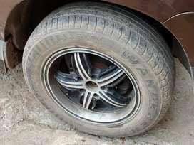 16 inch alloy wheels for duster innova creta