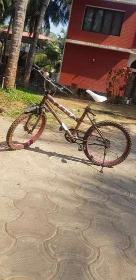 Girls Atlas Old Bicycle