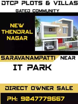 Prime location Saravanampatty Plot & Villas