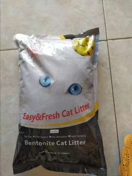 Pasir Kucing Top Bentonite Lemon 5 liter