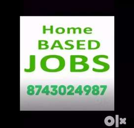 Home based job is given by own company for fresher