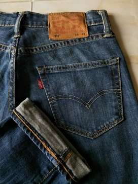 Celana jeans levis 511 size 28-29