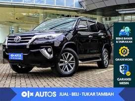 [OLXAutos] Toyota Fortuner 2.4 VRZ Diesel A/T 2017 Hitam
