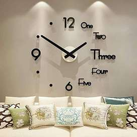 3D Acrylic Wall Clock Home decoration