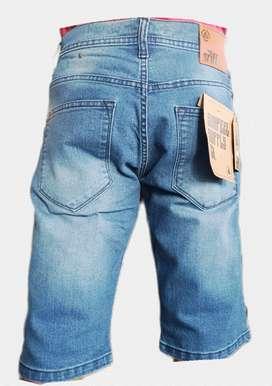 Grosir celana jeans pendek pria