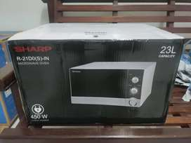 Sharp Microwave Oven R-21D0(S)-IN 450W Baru