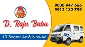Mahindra Supro ZX Maxicab service at Kakinada/ Samalkot