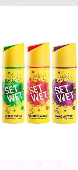Set Wet Deo at 35%off (MRP.150 per)