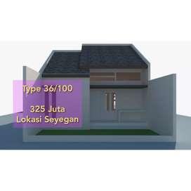Rumah Murah Desain Minimalis 300 Juta-an di Sleman