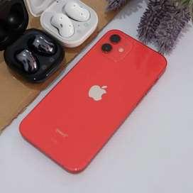 Iphone 12 128gb red garansi tam