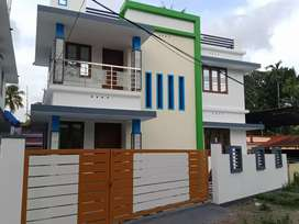 Ready to occupy 3 bhk 1450 sqft at aluva paravur road thattampady