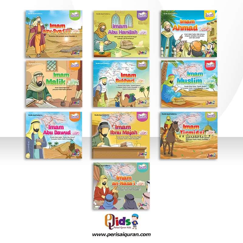 Buku Cerita Anak Serial Ulama Ahlussunnah 0
