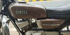 Yamaha RX 100 in good working condition