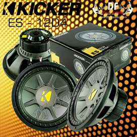 Subwoofer Kickers 12D4 [ DF Car Audio]