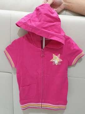 Baju Anak Hoodie Barbie