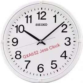 Jam Dinding Seiko BULAT Original Qxa 652 - Emas
