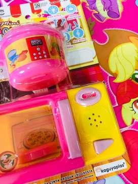 Mainan anak microwave edisi baru