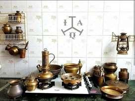 Antique Vintage brass vessels