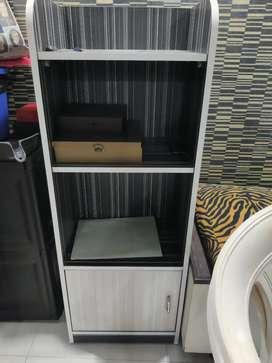 Open cupboard