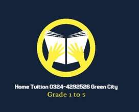 Tution Available Green City