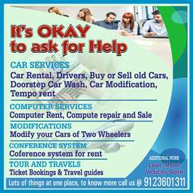 Car rental drive service know more call US