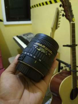 Lensa cembung fisheye 10-17 tokina for canon autofokus