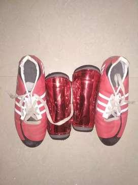 Football stud's and knee gard