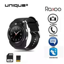 Smartwatch V8 - Smart Watch V8 Bluetooth Sim Card Memory