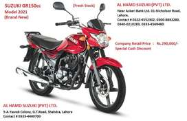 Suzuki GR-150 (Brand New) Special Discount Offer